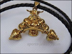 Bull pendant Crossfit gift