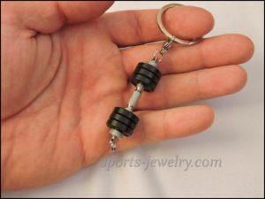 Dumbbell keychain Bracelet street workout