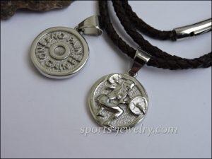 Fitness jewelry Weight pendant
