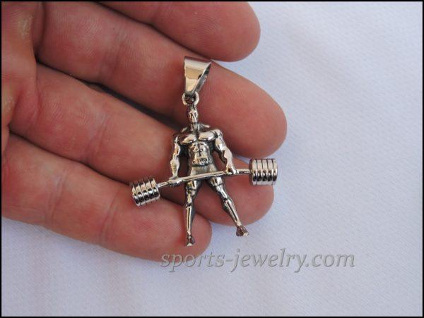 Powerlifting jewelry Exercise jewelry