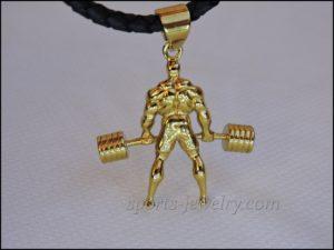 Powerlifting jewelry Powerlifting gift