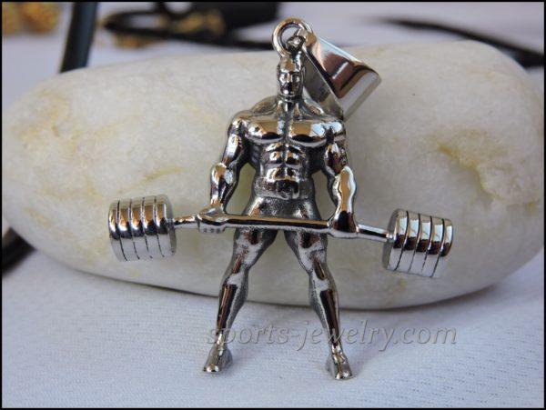 Powerlifting jewelry Sports pendants