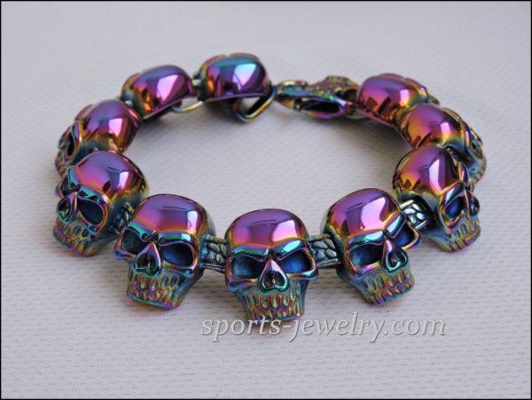 Skull bracelet Crossfit gift