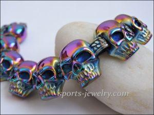 Skull bracelet Exercise jewelry