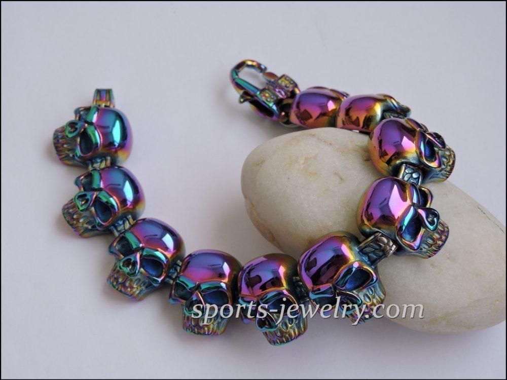 Skull bracelet Gym gifts