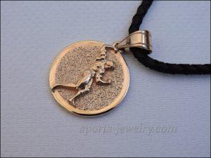 Bodybuilding jewelry Bodybuilding necklace