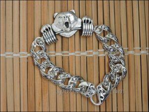 Bracelet bear Powerlifting gift