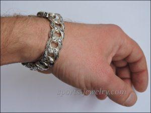Bracelet bear Weightlifting necklaces