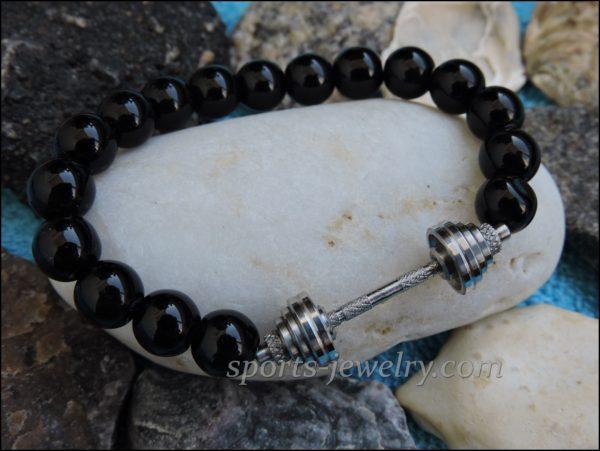 Bracelet dumbbell Fitness jewelry