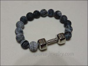 Bracelet dumbbell Fitness jewelry bracelet