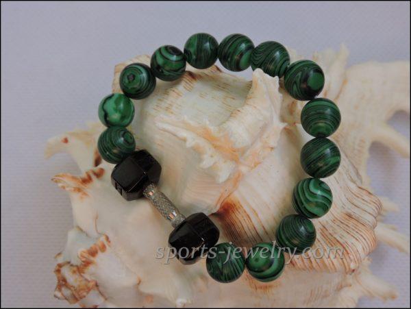 Bracelet dumbbell Gym jewelry