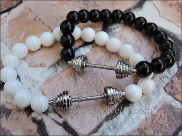 Bracelet dumbbell Powerlifting jewelry