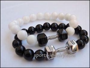 Crossfit jewelry Fitness jewelry charms
