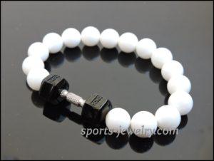 Crossfit jewelry Titanium sports bracelet