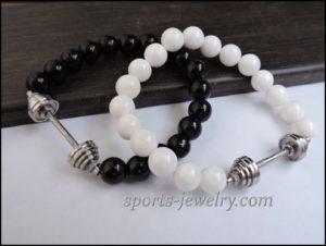 Crossfit jewelry Workout bracelets