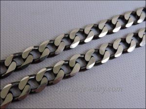 Cuban chain silver cheap