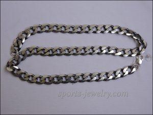 Cuban chain silver photo
