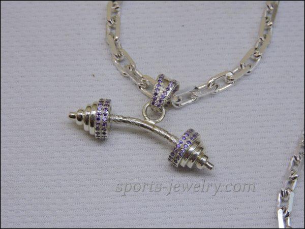 Fitness jewelry Crossfit jewelry photo
