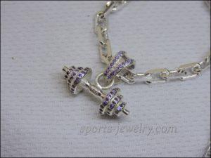 Fitness jewelry Sports gift photo