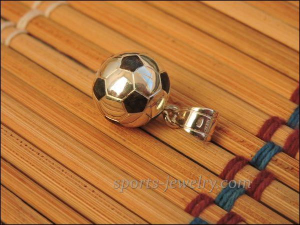 Football ball pendant chain