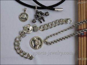 Gym jewelry Bracelet bear d