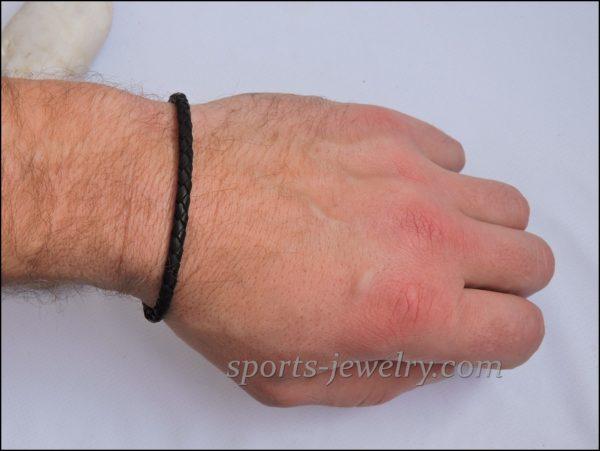 Leather bracelet Gym gifts