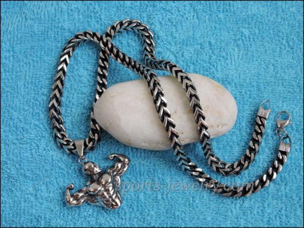 Men's Necklace stainless steel original