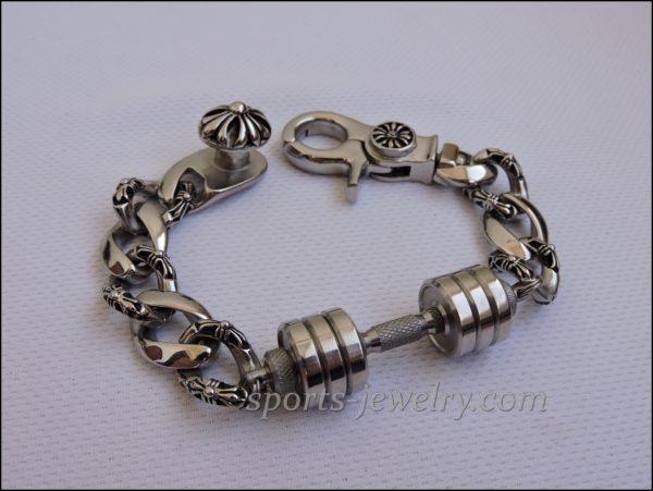 Mens sports bracelets Bracelet barbell buy