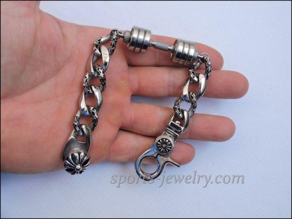 Mens sports bracelets Bracelet barbell price