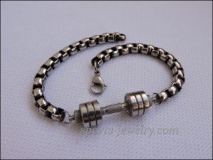 Mens sports bracelets price Bracelet barbell