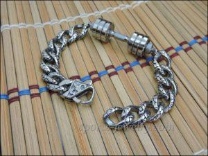 Mens sports bracelets stainless steel