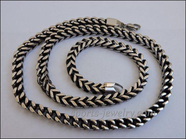 Necklace steel U.S.A.