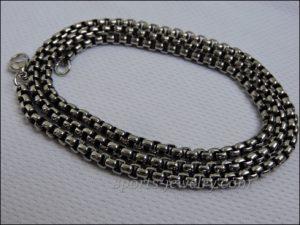 Necklace steel pendant