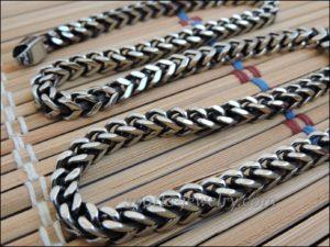 Necklace steel photo