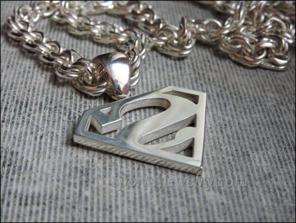 Necklace superman Superman pendant