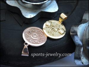 Silver Pitbull pendant