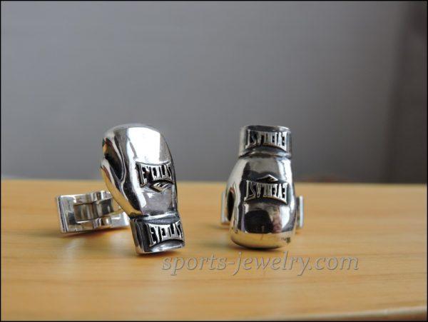 Sports cufflinks Boxing gloves cufflinks