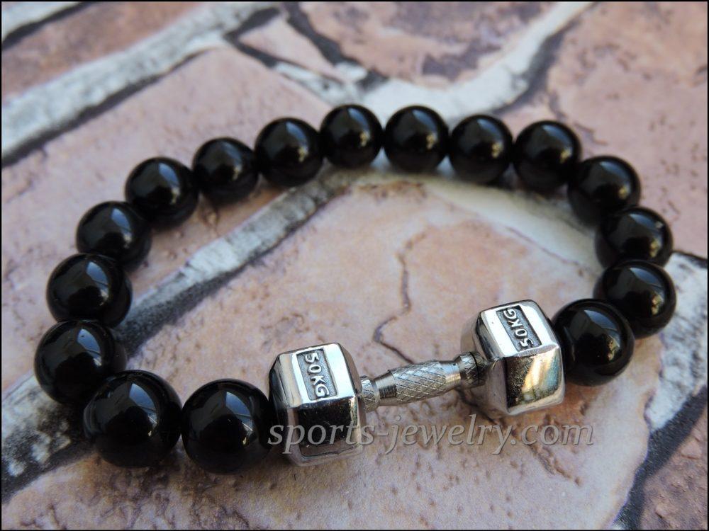 Sports gift Bracelet dumbbell