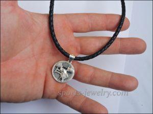 Sports jewelry Armwrestling pendant