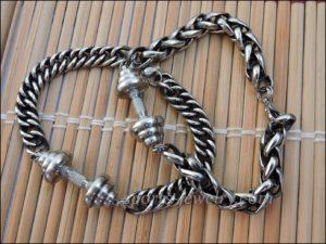 Sports jewelry Bracelet barbell stainless steel