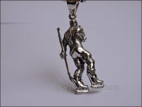 Sports jewelry Hockey pendant