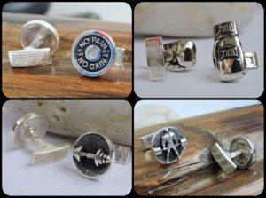 Sports jewelry Sports cufflinks
