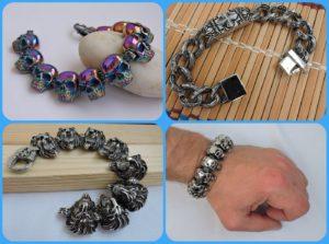 Sports jewelry bracelets