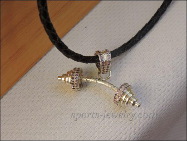 Sports keychain Fitness jewelry photo