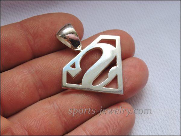 Superman chain Superman pendant