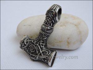 Thor's hammer pendant stainless steel buy