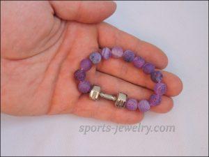 Workout bracelets Bracelet dumbbell