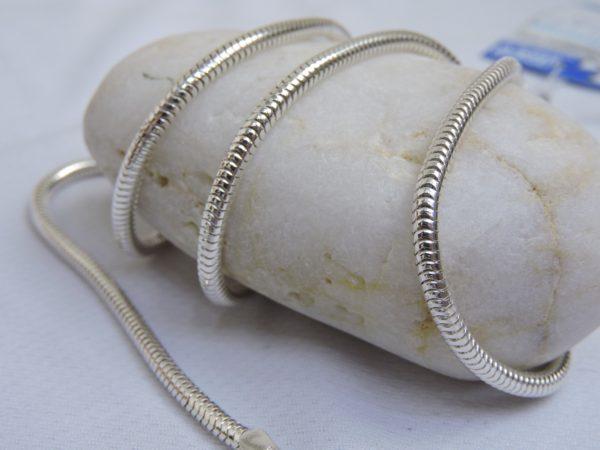 snake necklace silver