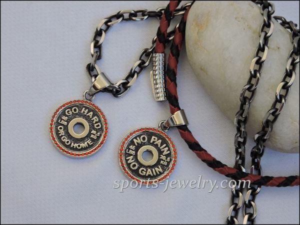 Gym jewelry Crossfit jewelry