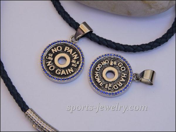 Gym jewelry Fitness jewelry Gym jewelry
